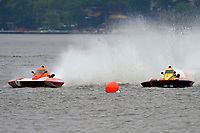 "Doug Martin,S-33 ""Keen's Sunday Money"", Doug Rapp, CS-79 ""Bad Influence"" (2.5 Litre Stock hydroplane(s)"