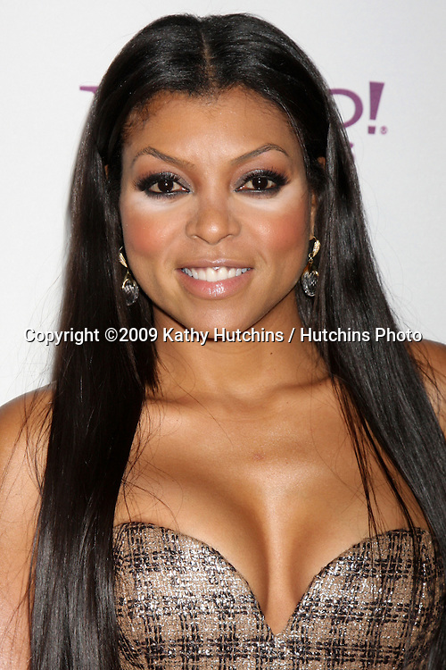 Taraji P. Henson.arriving at the 13th Annuall Hollywood Film Festival Awards Gala Ceremony.Beverly Hilton Hotel.Beverly Hills,  CA.October 26, 2009.©2009 Kathy Hutchins / Hutchins Photo.