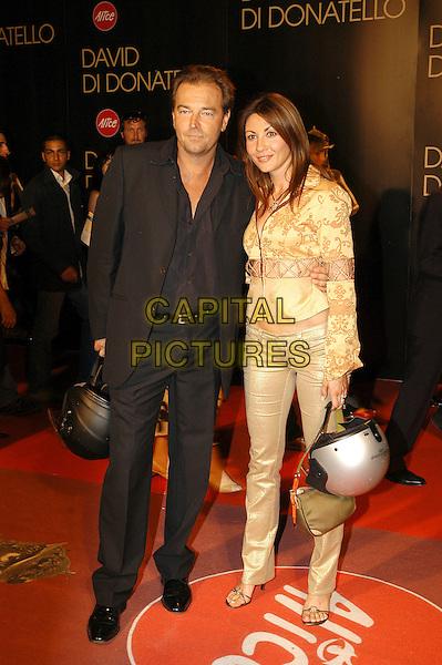 SEBASTINO SOMMA.David di Donatello Italian Awards at the Gran Teatro di Tor di Quinto, Rome, Italy, 14th June 2007..full length .CAP/CAV.©Luca Cavallari/Capital Pictures.
