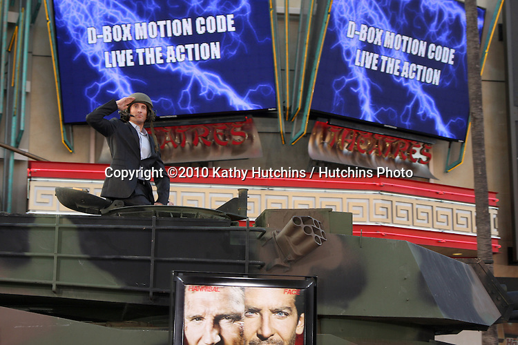 "Sharlto Copley .arrives at the ""A-Team""  Premiere.Grauman's Chinese Theater.Los Angeles, CA.June 3, 2010.©2010 Kathy Hutchins / Hutchins Photo.."
