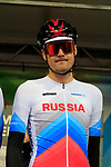 Pavel Sivakov of Russia at sign on before the Men Elite Road Race of the UCI World Championships 2019 running 280km from Leeds to Harrogate, England. 29th September 2019.<br /> Picture: Eoin Clarke | Cyclefile<br /> <br /> All photos usage must carry mandatory copyright credit (© Cyclefile | Eoin Clarke)