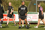 Jerry Collins during Ospreys rugby training at Llandarcy Institute of Sport near Neath aheah of their Heineken Cup match with Clermont Auvergne on Sunday..