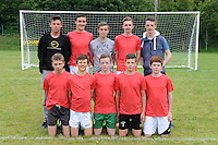 The Man-Chest-Hair team taking part in the Killarney Athletic - Credit Union 7-a-side soccer tournament this week.<br /> Picture by MacMonagle, Killarney
