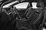 Front seat view of 2014 Volkswagen Golf R 5 Door Hatchback 4WD Front Seat car photos
