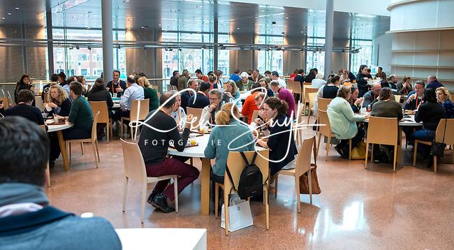 UTRECHT - lunch , Nationaal Hockey Congres van de KNHB, COPYRIGHT KOEN SUYK