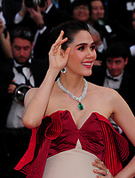 www.acepixs.com<br /> <br /> May 21 2017, Cannes<br /> <br /> Araya A. Hargate arriving at the premiere of 'The Meyerowitz Stories' during the 70th annual Cannes Film Festival at Palais des Festivals on May 21, 2017 in Cannes, France<br /> <br /> By Line: Famous/ACE Pictures<br /> <br /> <br /> ACE Pictures Inc<br /> Tel: 6467670430<br /> Email: info@acepixs.com<br /> www.acepixs.com