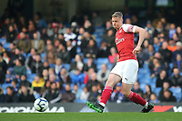 Danny Ballard of Arsenal in action during Chelsea Under-23 vs Arsenal Under-23, Premier League 2 Football at Stamford Bridge on 15th April 2019