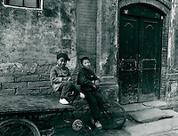 Altstadt (Hutong) in Peking, China 1976