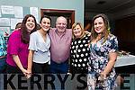 Theresa  O'Carroll, Niamh O'Carroll, Pat O'Carroll,  Bernie O'Carroll, and Jennifer O Carroll, enjoying Pat's 60th Birthday in Na Gael Club House on Saturday