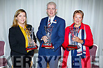 Best Hotel awards went to Jane Boyle (The Ashe Hotel), Mark O'Sullivan (The Rose Hotel) and Elenor Carrig (Benner Hotel) at the Tralee Tidy Towns awards in the Rose Hotel on Tuesday night.