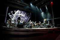 19/07/2014 - PORTUGAL, PORTO, GAIA - MEO MARÈS VIVAS 2014 - PORTISHEAD, Banda do Reino Unido durante o Festival Meo Marés Vivas 2014. (Foto: Pedro Lopes/Brazil Photo Press)