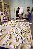 Europe/France/Midi-Pyrénées/81/Tarn/ Carmaux: Fabrication des biscuits traditionnels:jeannots et échaudés à la Biscuiterie Deymier