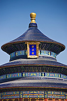 Hall of Prayer for Good Harvest, Qinian Dian, at the Ming Dynasty Temple of Heaven, Beijing, China