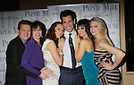 After Party Opening Night of Boeing-Boeing starring One Life To Live Matt Walton (Benard) with John Scherer, Beth Leavel, Heather Parcells, Brynn O'Malley & Anne Horak on January 22, 2012 at the Paper Mill Playhouse, Millburn, New Jersey. (Photo by Sue Coflin/Max Photos)