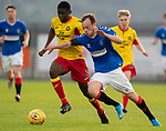 26.08.2019 Rangers Colts v Partick Thistle: Brandon Barker iand Mouhammed Niang