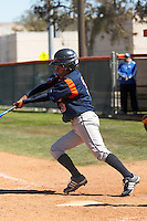 SAN ANTONIO, TX - MARCH 4, 2007: The University of Texas at Arlington Mavericks vs. The University of Texas at San Antonio Roadrunners Softball at Roadrunner Field. (Photo by Jeff Huehn)