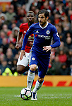 Cesc Fabregas of Chelsea in action during the English Premier League match at Old Trafford Stadium, Manchester. Picture date: April 16th 2017. Pic credit should read: Simon Bellis/Sportimage