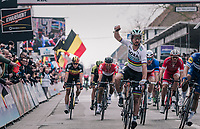 World Champion Peter Sagan (SVK/Bora-Hansgrohe) wins the race for a 3rd time in his career<br /> <br /> 81st Gent-Wevelgem in Flanders Fields (1.UWT)<br /> Deinze &gt; Wevelgem (251km)