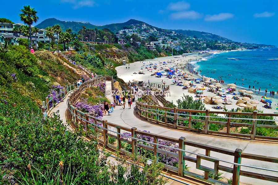 Laguna Beach California, seaside resort, artist community, located in southern, Orange County, California, United States