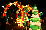 """November 19, 2017, Tokyo, Japan - Colorful lanterns and LED bulbs are illuminated at the Toshimaen amusement park in Tokyo on Sunday, November 19, 2017. The illumination called """"Winter Fantasia"""" will be carried through February 25, 2018.     (Photo by Yoshio Tsunoda/AFLO) LWX -ytd-"""