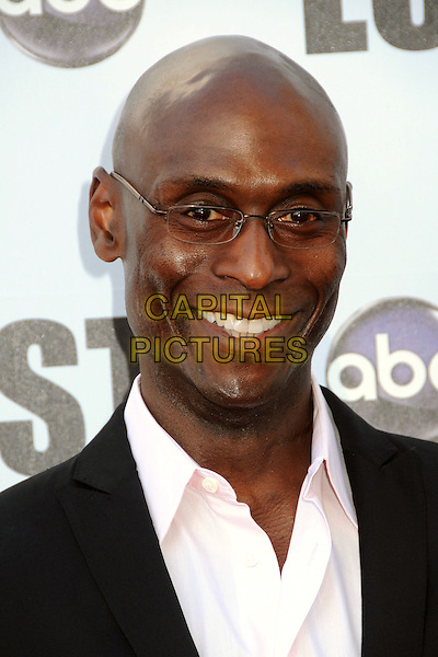 "LANCE REDDICK.""Lost"" Live: The Final Celebration held at UCLA's Royce Hall, Westwood, California, USA..May 13th, 2010.headshot portrait black pink glasses .CAP/ADM/BP.©Byron Purvis/AdMedia/Capital Pictures."
