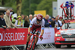 Maurits Lammertink (NED) Team Katusha Alpecin in action during Stage 1, a 14km individual time trial around Dusseldorf, of the 104th edition of the Tour de France 2017, Dusseldorf, Germany. 1st July 2017.<br /> Picture: Eoin Clarke | Cyclefile<br /> <br /> <br /> All photos usage must carry mandatory copyright credit (&copy; Cyclefile | Eoin Clarke)