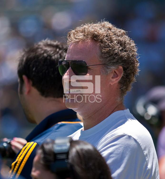 CARSON, CA – July 24, 2011: Actor Will Ferrell before the match between LA Galaxy and Manchester City FC at the Home Depot Center in Carson, California. Final score Manchester City FC 1 and LA Galaxy 1. Manchester City wins shoot out 7, LA Galaxy 6.