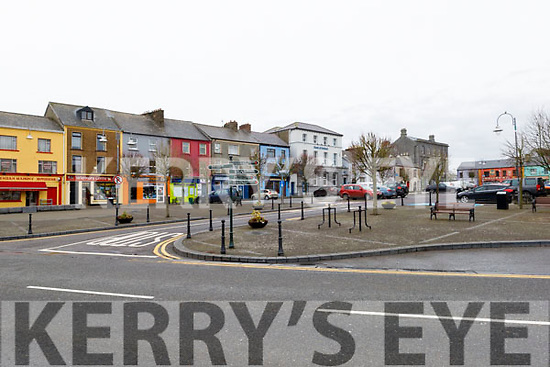 Listowel town on Wednesday morning.