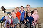Pictured at Banna Beach on evening last were l-r: Ellen Breen, John Breen, Ned Breen, Alison Breen with Theresa Phelan, Luke Phelan and Nora Breen, Kilflynn.