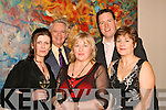 8909-8915.PARTY TIME: Enjoying the Nash Beverages, Castleisland annual staff party in the Fels Point Hotel, Tralee on Saturday night were l-r: Maria O'Leary, Rita Bonn, Gretta Pond, Richard Nash (chairman) and JJ Bonn.