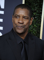 www.acepixs.com<br /> <br /> January 7 2018, LA<br /> <br /> Denzel Washington arriving at the 75th Annual Golden Globe Awards at The Beverly Hilton Hotel on January 7, 2018 in Beverly Hills, California.<br /> <br /> By Line: Peter West/ACE Pictures<br /> <br /> <br /> ACE Pictures Inc<br /> Tel: 6467670430<br /> Email: info@acepixs.com<br /> www.acepixs.com