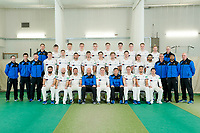 Picture by Allan McKenzie/SWpix.com - 02/04/2018 - Cricket - Yorkshire County Cricket Club Media Day 2018 - Headingley Cricket Ground, Leeds, England - The Yorkshire Cricket Club Team Photo 2018 with coaches.