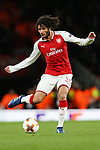 Mohamed Elneny of Arsenal during the UEFA Europa League Quarter-Final 1st leg match at the Emirates Stadium, London. Picture date 5th April 2018. Picture credit should read: Charlie Forgham-Bailey/Sportimage