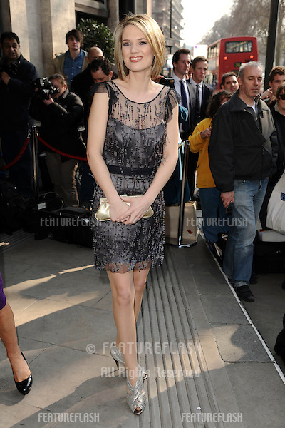 Charlotte Hawkins attending The TRIC Awards at The Grosvenor House Hotel, London. 08/03/2011 Picture by: Steve Vas / Featureflash