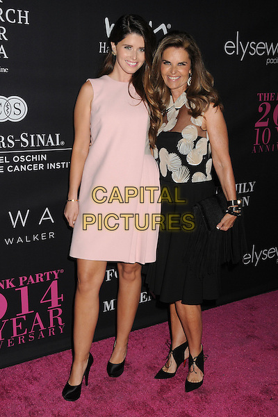 18 October 2014 - Santa Monica, California - Katherine Schwarzenegger, Maria Shriver. Elyse Walker's 10 Year Anniversary Pink Party held at Santa Monica Airport Hangar 8.  <br /> CAP/ADM/BP<br /> &copy;Byron Purvis/AdMedia/Capital Pictures