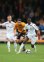 Eddie Odhiambo of Newport starts an attack  during the Blue Square Bet Premier match between Cambridge United and Newport County at the Abbey Stadium, Cambridge  on 25th September, 2010.© Kevin Coleman