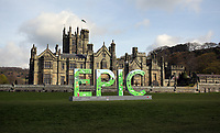 2017 04 11 EPIC sign at Margam Castle, Wales, UK