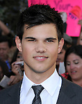 Taylor Lautner  at the Summit Entertainment's Premiere of The Twilight Saga : Eclipse held at the Los Angeles Film Festival at Nokia Live in Los Angeles, California on June 24,2010                                                                               © 2010 Debbie VanStory / Hollywood Press Agency