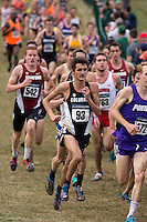 Colorado's Blake Theroux (93) runs in the pack during the NCAA Cross Country Championships in Terre Haute, Ind. on Saturday, Nov. 22, 2014. (James Brosher, Special to the Denver Post)
