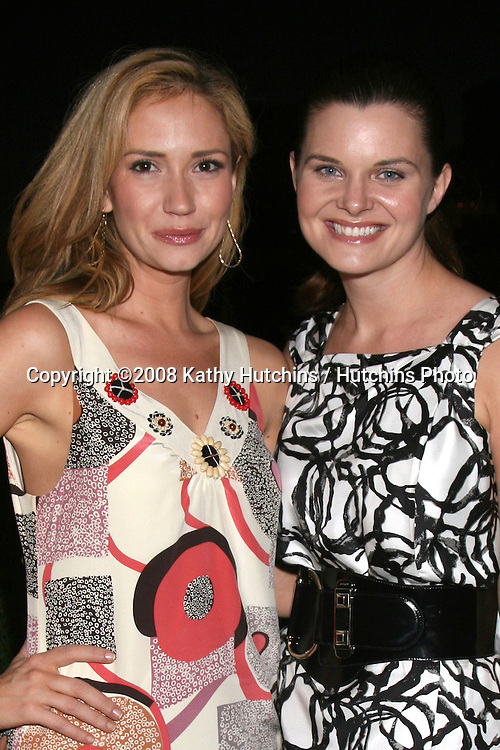 Ashley Jones & Heather Tom attending the  Daytime for Planned Parenthood Event at a rooftop in Hollywood, CA.June 18, 2008.©2008 Kathy Hutchins / Hutchins Photo .