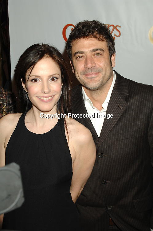 "Mary Louise Parker and Jeffrey Dean Morgan..arriving at The Broadway Opening of ""Curtains"" on      March 22, 2007 at The Hirschfeld Theatre in New York...Robin Platzer, Twin Images"