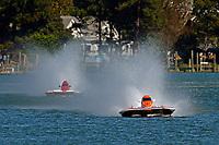 """Chris Ritz, Y-2 """"Orange Crate"""", Kathleen Maurer, Y-16 """"Liquid Fun Racing""""                (1 Litre MOD hydroplane(s)"""