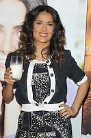 Salma Hayek presenta una nueva got milk? Anuncio del bigote de leche y lanza el proyecto Desayuno en el hotel L'Ermitage de Beverly Hills, California.*24*febrero*2012*. <br /> (Foto:&copy;mpi24/MediaPunchInc/NortePhoto.com.*)