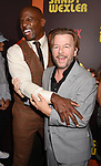 HOLLYWOOD, CA - APRIL 06:  Actors Terry Crews (L) and David Spade attend the premiere of Netflix's 'Sandy Wexler' at the ArcLight Cinemas Cinerama Dome on April 6, 2017 in Hollywood, California.