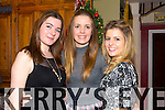 Ailish Ruane, Kate O'Connell, Fay Quirke, The  Three Amigos reunion from Presentation and celebrating Little Women's Christmas at the Stone House on Friday