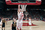 March 3, 2010: Wisconsin Badgers forward Jon Leuer (30) dunks the ball during a Big Ten Conference NCAA basketball game against the Iowa Hawkeyes at the Kohl Center on March 3, 2010 in Madison, Wisconsin. The Badgers won 67-40. (Photo by David Stluka)