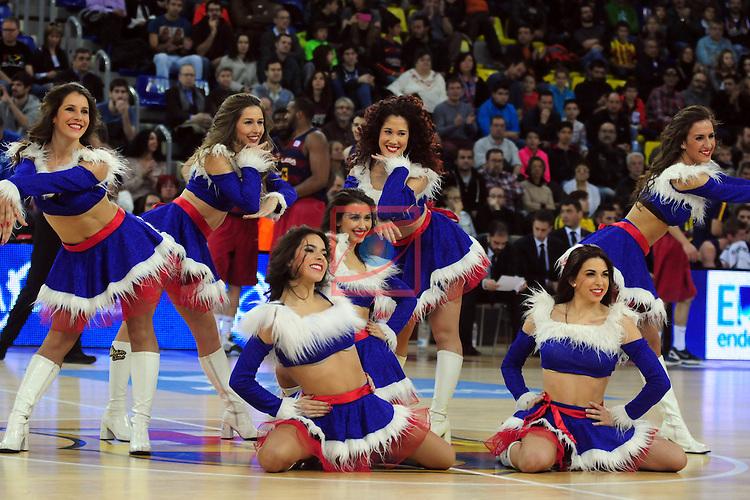 League ACB-ENDESA 2015/2016 - Game: 14.<br /> FC Barcelona Lassa vs Movistar Estudiantes: 89-67.<br /> Dream Cheers.