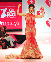 NEW YORK, NY - February 7 : Danica McKellar attends The American Heart Association's Go Red For Women Red Dress Collection 2019 Presented By Macy's at Hammerstein Ballroom on February 7, 2019 in New York City.<br /> CAP/MPI/JP<br /> &copy;JP/MPI/Capital Pictures
