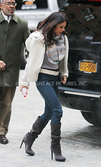 WWW.ACEPIXS.COM<br /> <br /> January 14 2015, New York City<br /> <br /> TV personality Bethenny Frankel picks up her daughter Bryn Hoppy from school on January 14 2015 in New York City<br /> <br /> By Line: Zelig Shaul/ACE Pictures<br /> <br /> <br /> ACE Pictures, Inc.<br /> tel: 646 769 0430<br /> Email: info@acepixs.com<br /> www.acepixs.com