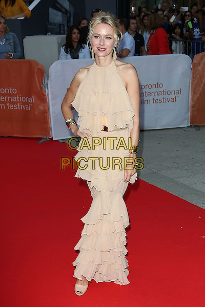 Naomi Watts attends the 2015 Toronto International Film Festival 'Demolition' premiere and opening night gala at Roy Thomson Hall on September 10, 2015 in Toronto, Canada.<br /> CAP/NW<br /> &copy;Nick Watts/Capital Pictures